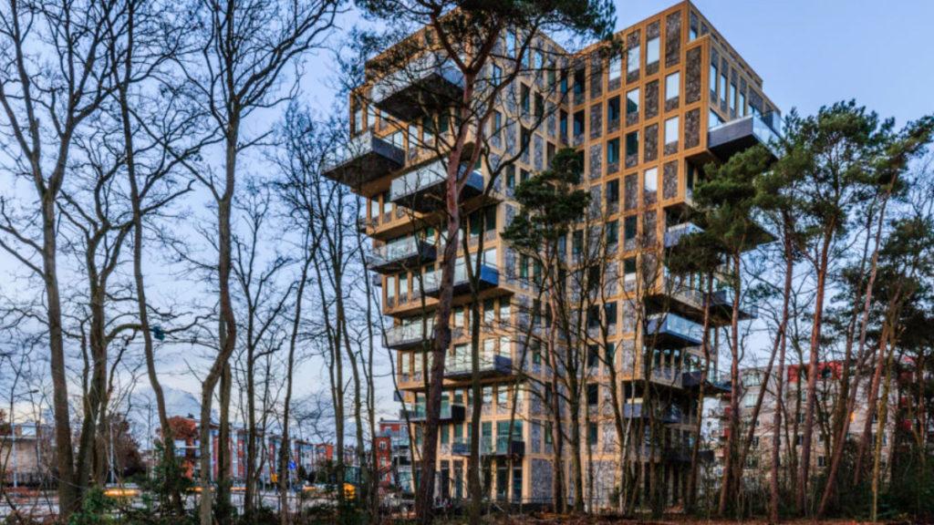 Wohnturm Belvedere in Hilversum