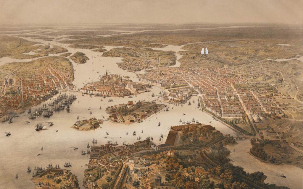 Stockholm long ago