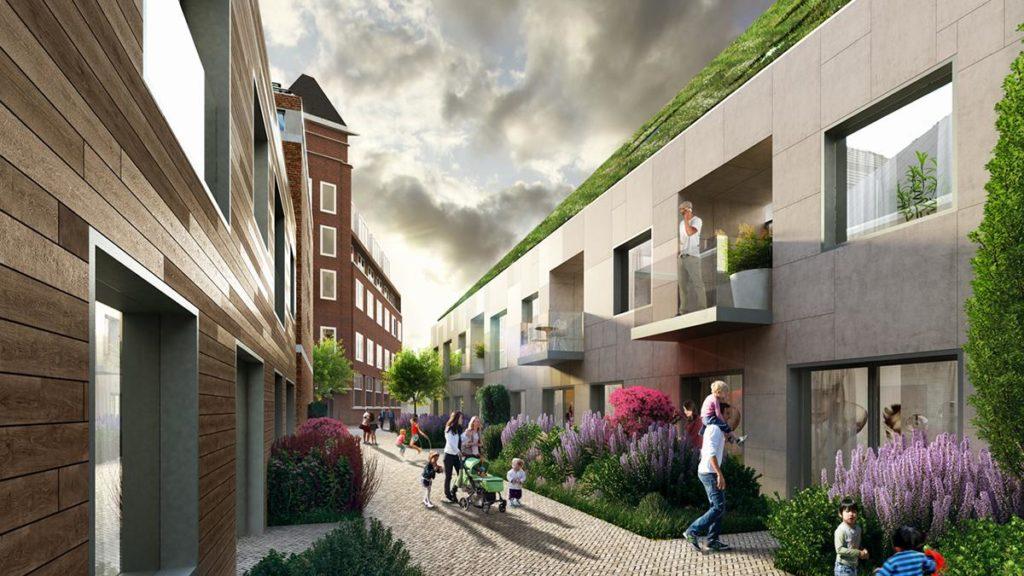 Vom Entwickler gewünscht und vom Architekturbüro umgesetzt: Nieuw Bergen soll viel erschwinglichen, hochqualitativen Wohnraum bieten. (Bild: RVRDV)