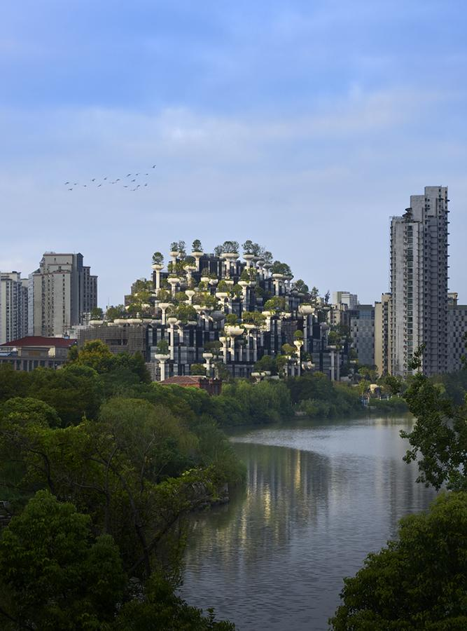 Studio Heatherwick's plans also extend to creating parks and reshaping the shore zone. (Photo: Qingyan Zhu)