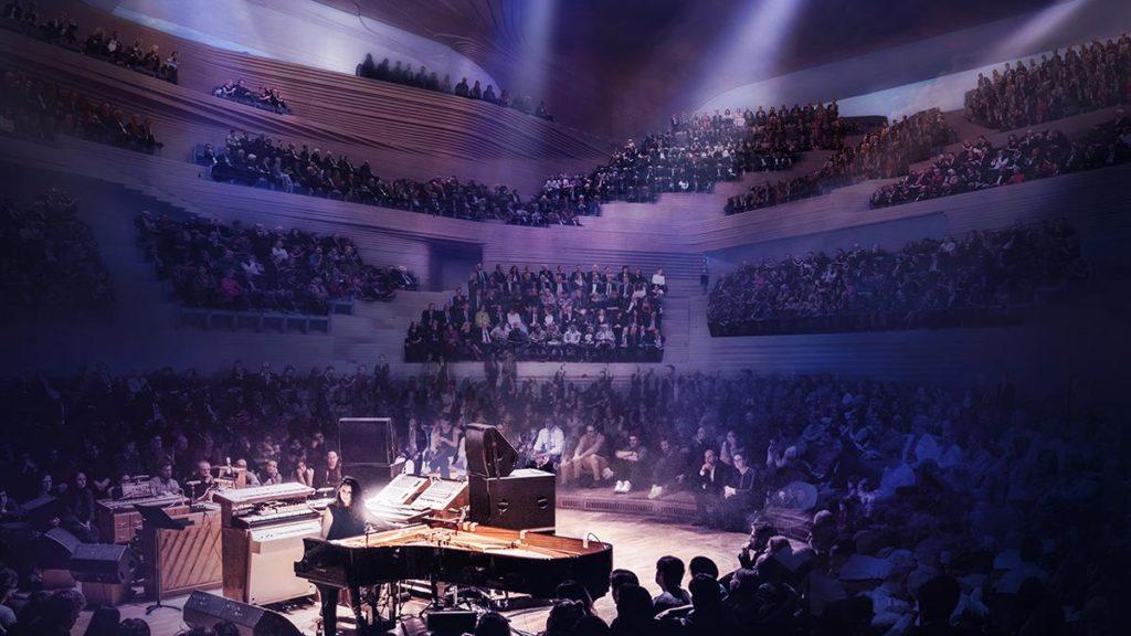 """Vorerst noch Zukunftsmusik: Konzerte im großen Saal des geplanten """"London Centre for Music"""". (Bild: Diller Scofidio and Renfro)"""