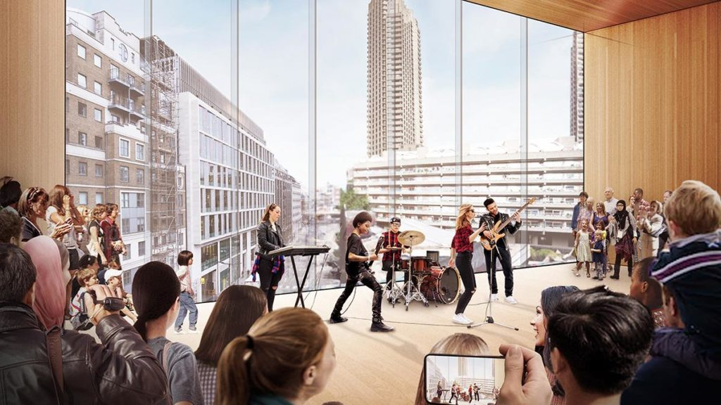 Transparent, offen, mit flexiblen Räumen für kreative Projekte und Performances: So sehen die Architekten das Kulturprojekt. (Bild: Diller Scofidio and Renfro)