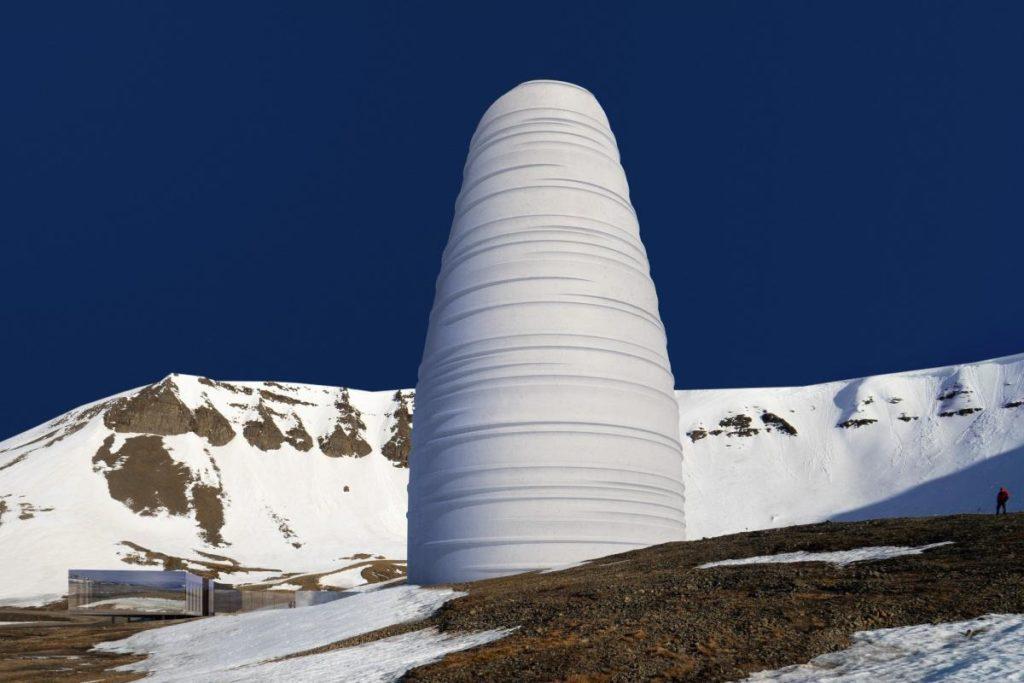 The Arc auf Spitzbergen