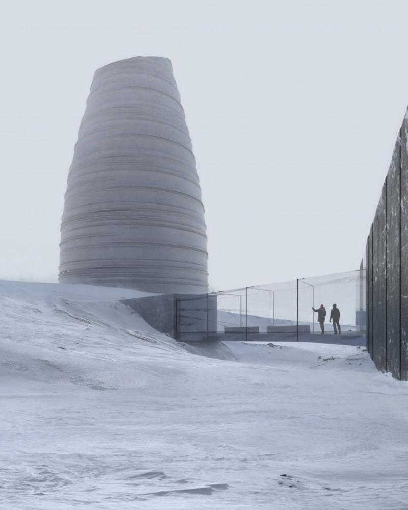 Besucherzentrum von Arctic Memory AS beauftragt