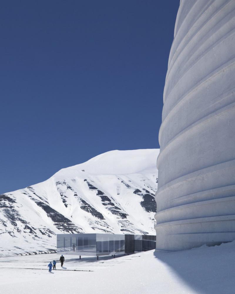 Svalbard Global Seed Vault und Arctic World Archive