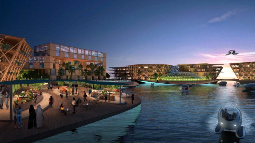 Oceanix City Bjarke Ingels Group