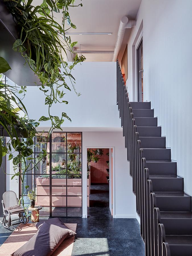 Das Konzept macht's möglich: Neben den privaten Zimmern stehen viele gemeinsame Räume zur Verfügung. (Foto: Steve Herud)