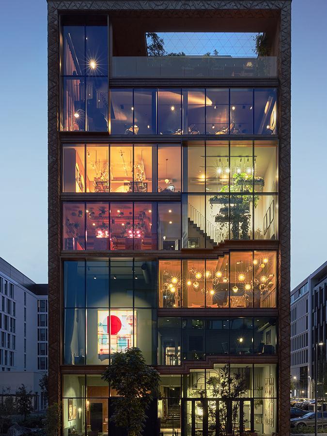 Franken Architekten haben ein originelles Konzept realisiert. (Foto: Steve Herud)