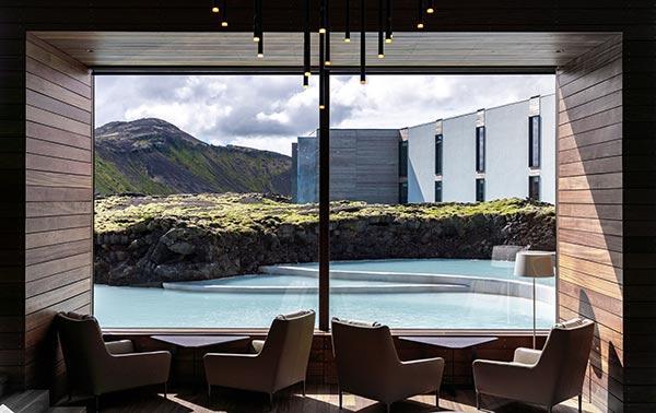 Panoramafenster im Retreat Spa