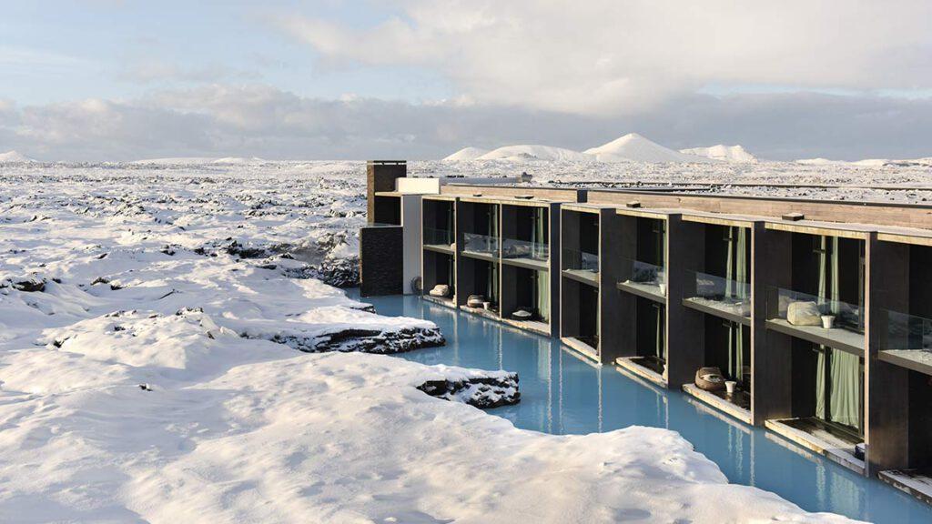 Aussenansicht Retreat at Blue Lagoon Iceland