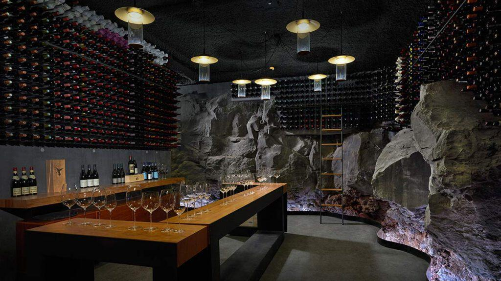 Wine Cellar, Retreat at Blue Lagoon Iceland