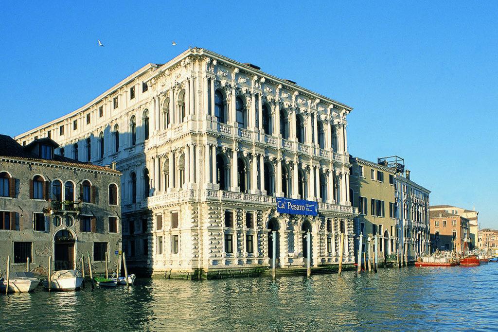 Das Museum moderner Kunst Ca'Pesaro in Venedig (Boris Podrecca mit M. Zordan, 2002). (Foto: Miran Kambič)