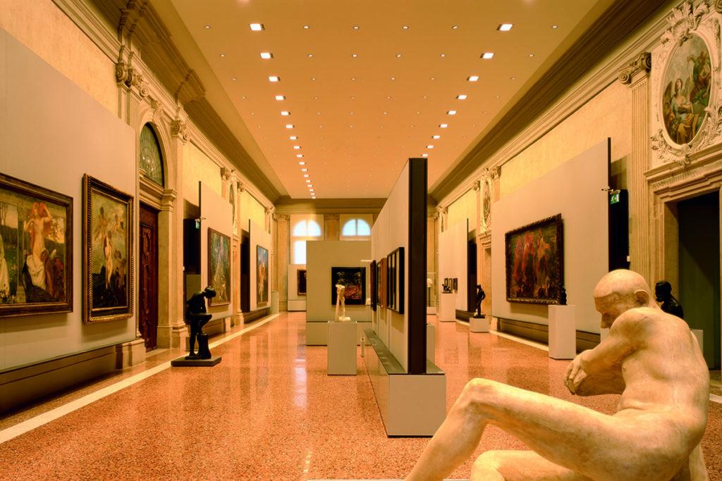 ... des Museums moderner Kunst in Venedig. (Foto: Miran Kambič)
