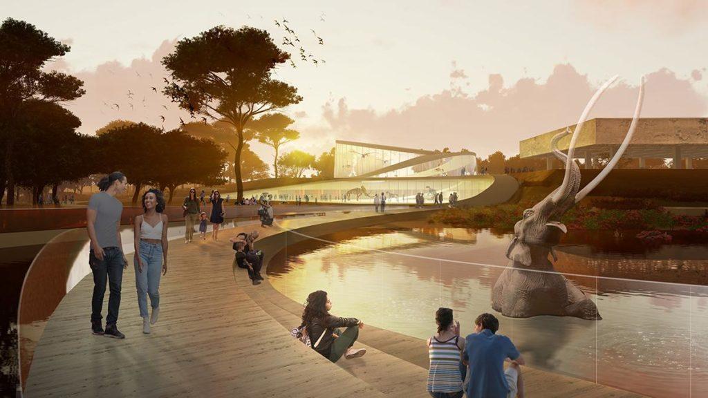 """Mammut-Projekt """"La Brea Tar Pits"""" (Bild: Weiss/Manfredi)"""