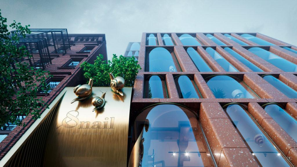 The Snail Apartments, NYC