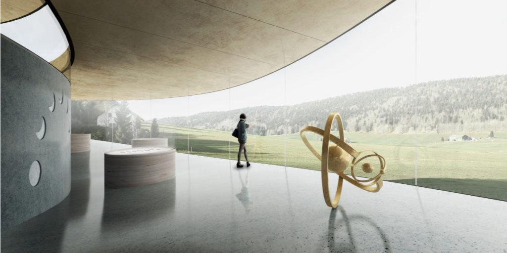 Watch museum in Le Brassus, Switzerland
