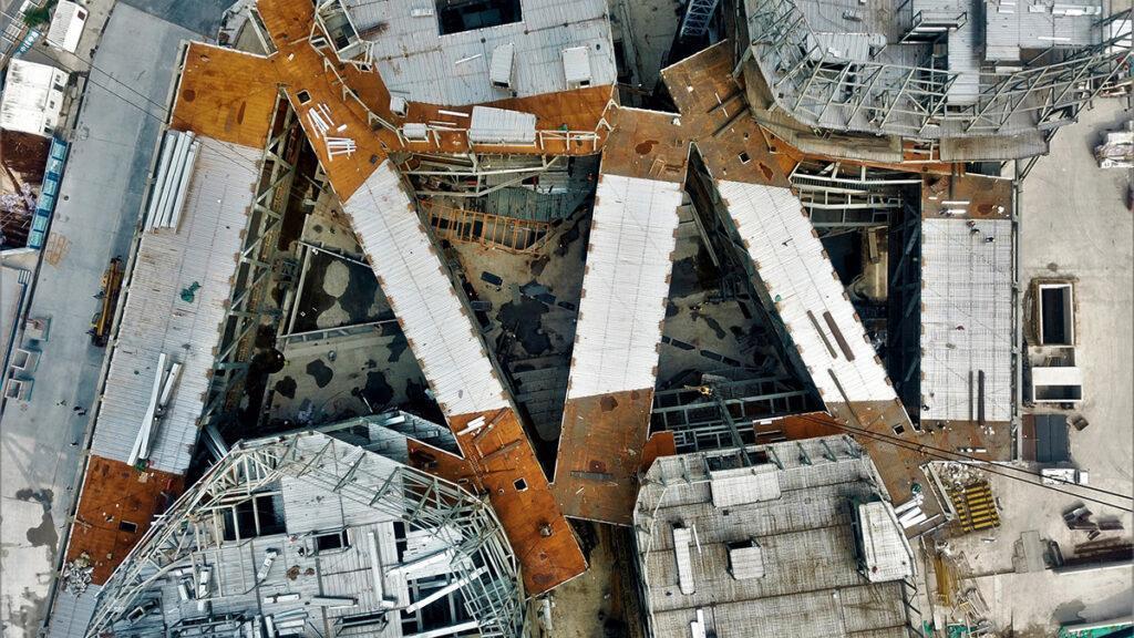 Juilliard School-Rohbau von oben.(Bild: Diller, Scofidio + Renfro)