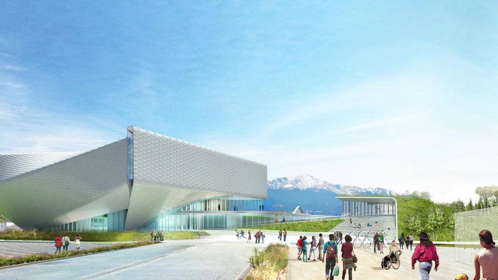 Olympisches Museum: Design ohne Barrieren (Bild: Diller Scofidio + Renfro)