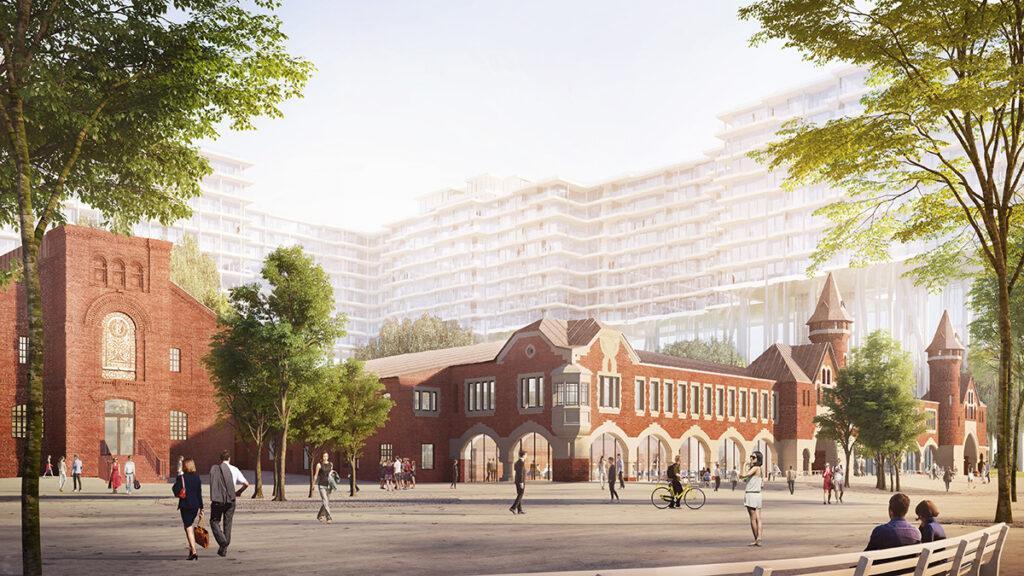 """Gebäude """"1"""" der Badaevskiy Brauerei. (Bild: Herzog & de Meuron)"""