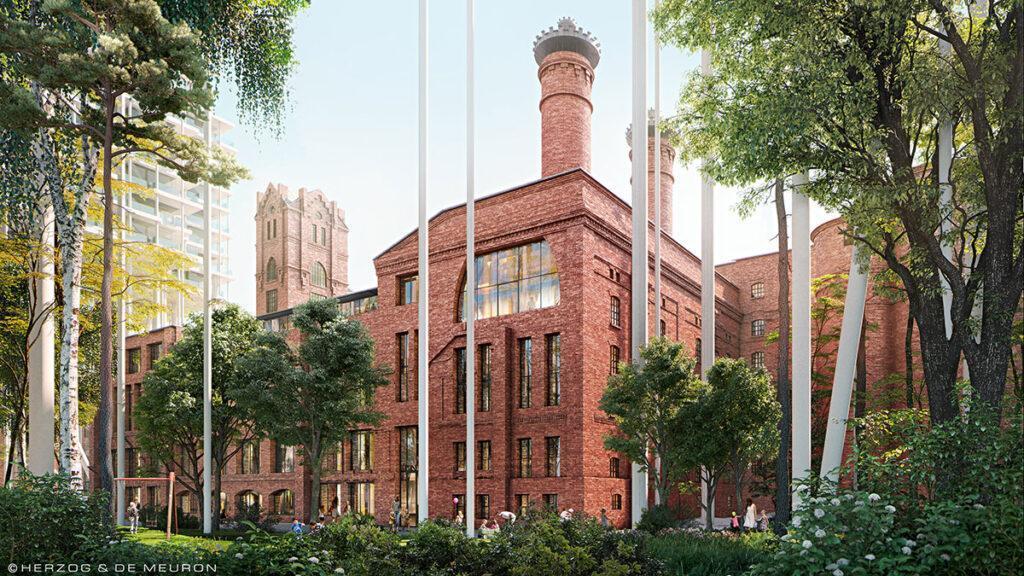 """Gebäude """"3"""" des historischen Ensembles. (Bild: Herzog & de Meuron)"""
