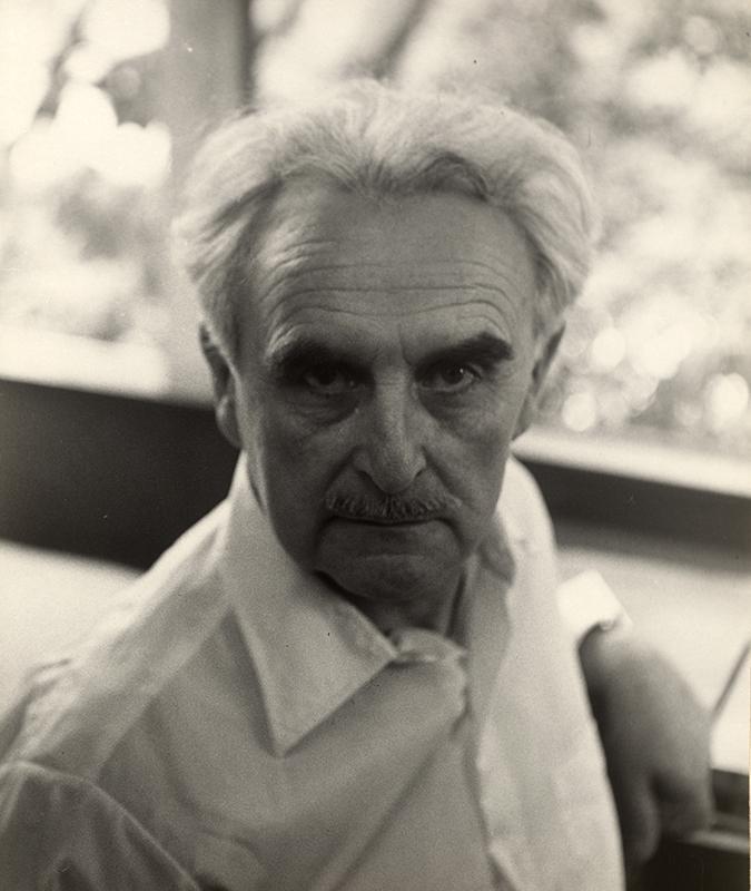 Architekt, Stil-Begründer und Visionär Richard Neutra, um 1960 (Foto: © Österreichische Nationalbibliothek, Bildarchiv und Grafiksammlung)