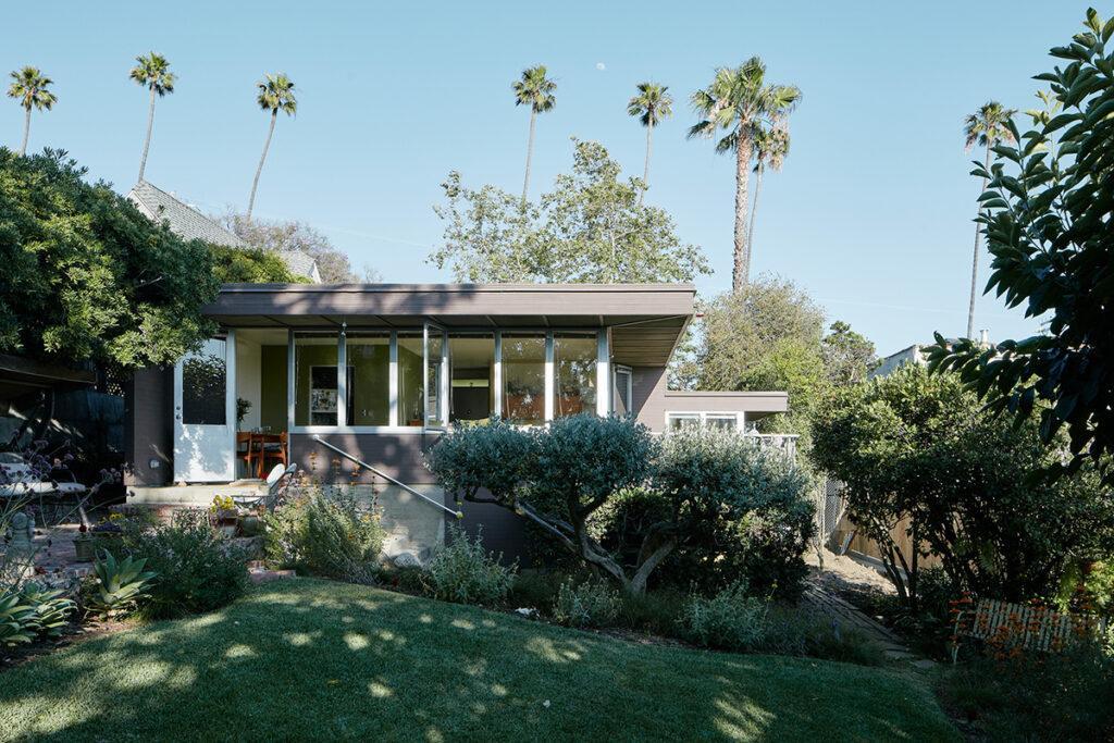 Mcintosh House in Silver Lake, Los Angeles, errichtet 1937–1939 (Foto: David Schreyer, 2017)