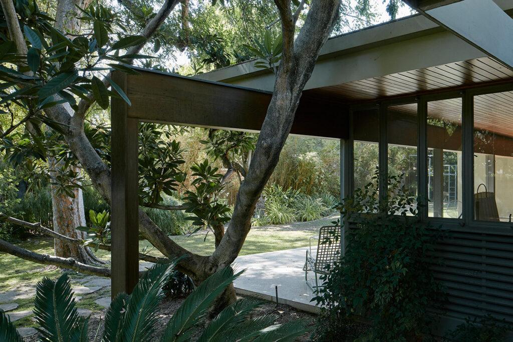 Neutras Wilkins House, gebaut 1949 in Pasadena.   (Foto: David Schreyer, 2017)