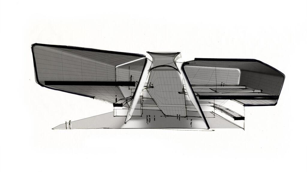 Durchdacht bis ins Detail: Diagramm zum Projekt-Entwurf. (Grafik: Diller Scofidio + Renfro)