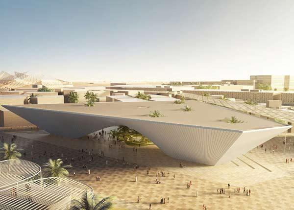 Expo 2020 Pavillon von BIG