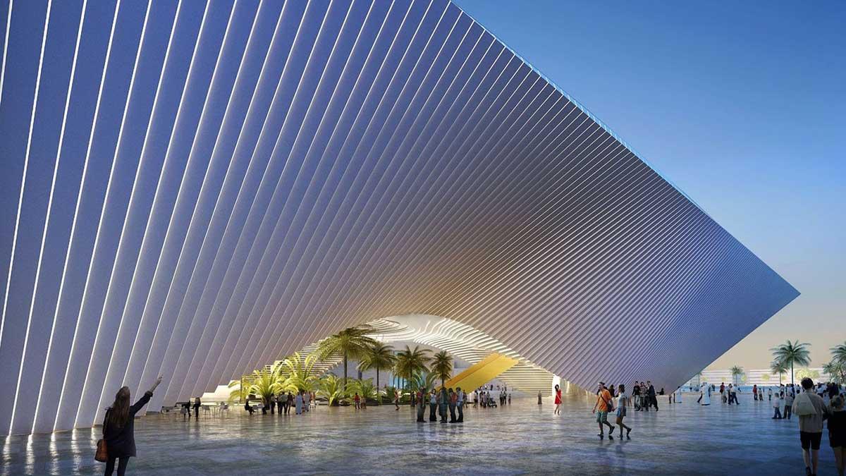 Expo-Pavillon von BIG