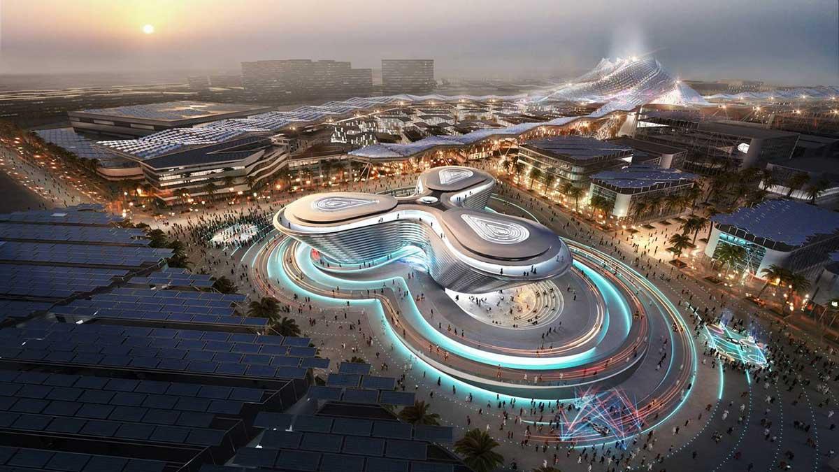 Expo-Pavillon von Foster + Partners