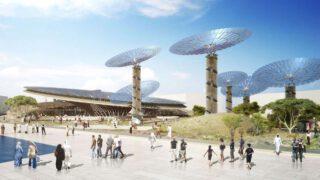 Expo 2020 Pavillon von Grimshaw
