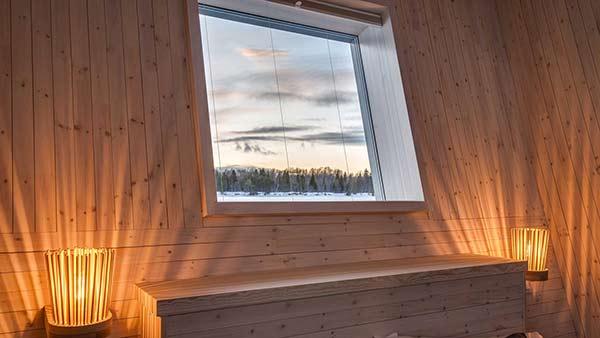 Double room, Arctic Bath