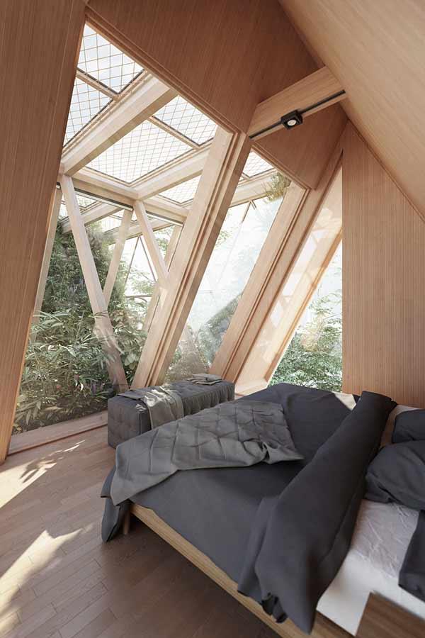 Schlafzimmer, The Farmhouse, Precht