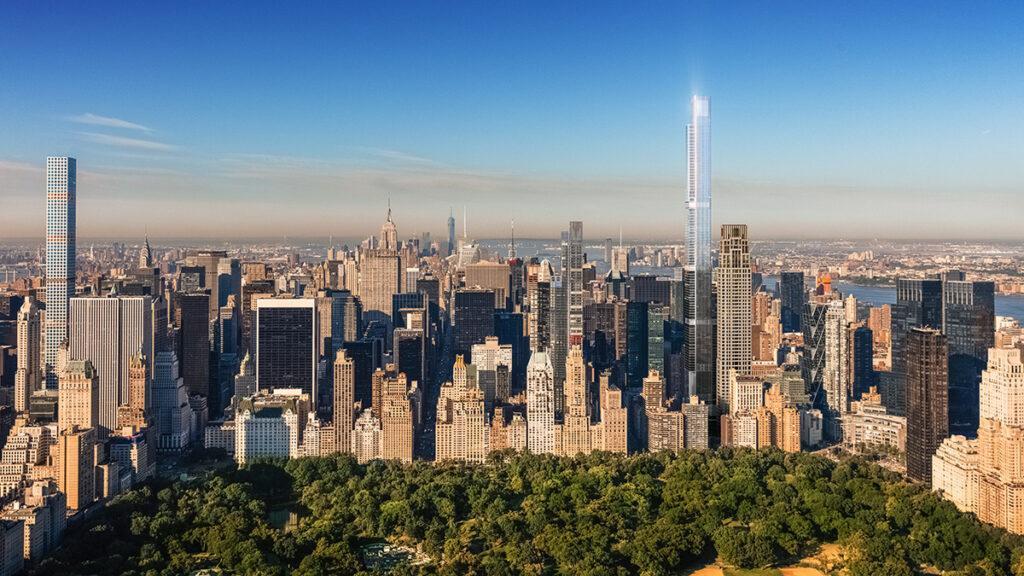 New eyecatcher on Manhattan's skyline
