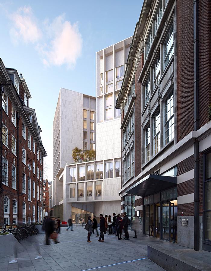 Ein aktuelles Projekt der Architektinnen: Die London School of Economics and Political Science (Foto: Grafton Architects)