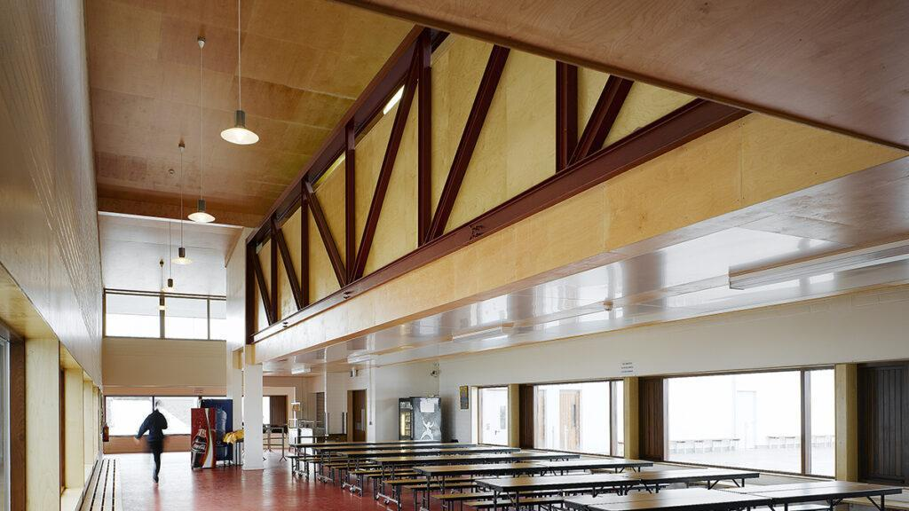 Die Kunst der Pritzker-Siegerinnen: Die Loreto Community School in Milford, Irland. (Foto: Ros Kavanagh)