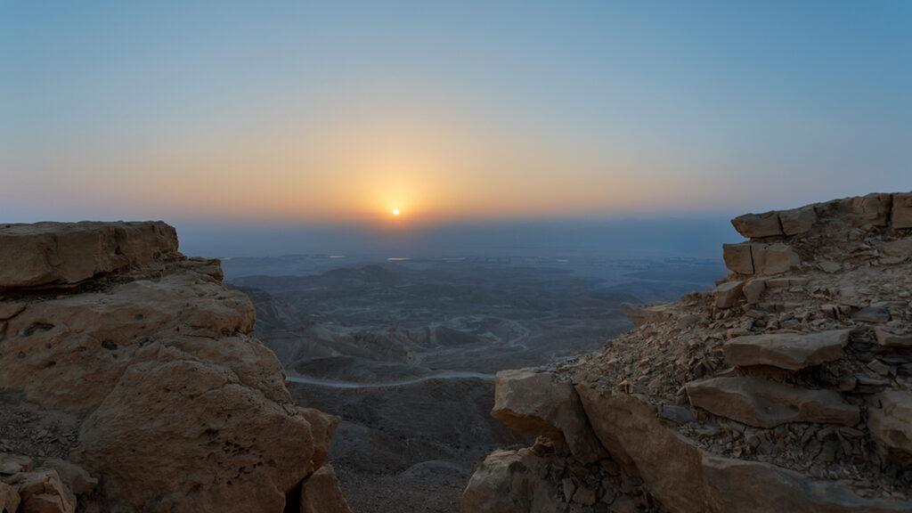 """Six Senses"" lockt ins Bibel-Land: Atemberaubende Sonnenaufgänge. (Foto: Six Senses)"