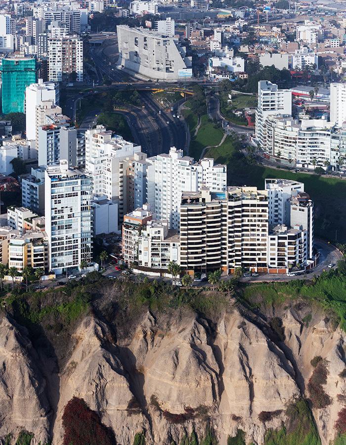 Die Kunst der Pritzker-Siegerinnen: Der Universitätscampus UTEC in Lima, Peru (Foto: Iwan Baan)