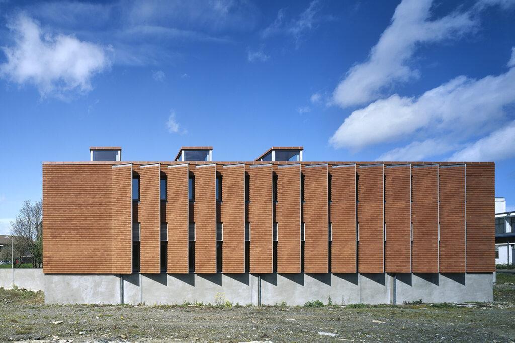 Von den Pritzker-Siegerinnen designt: Urban Institute of Ireland (Foto: Ros Kavanagh)