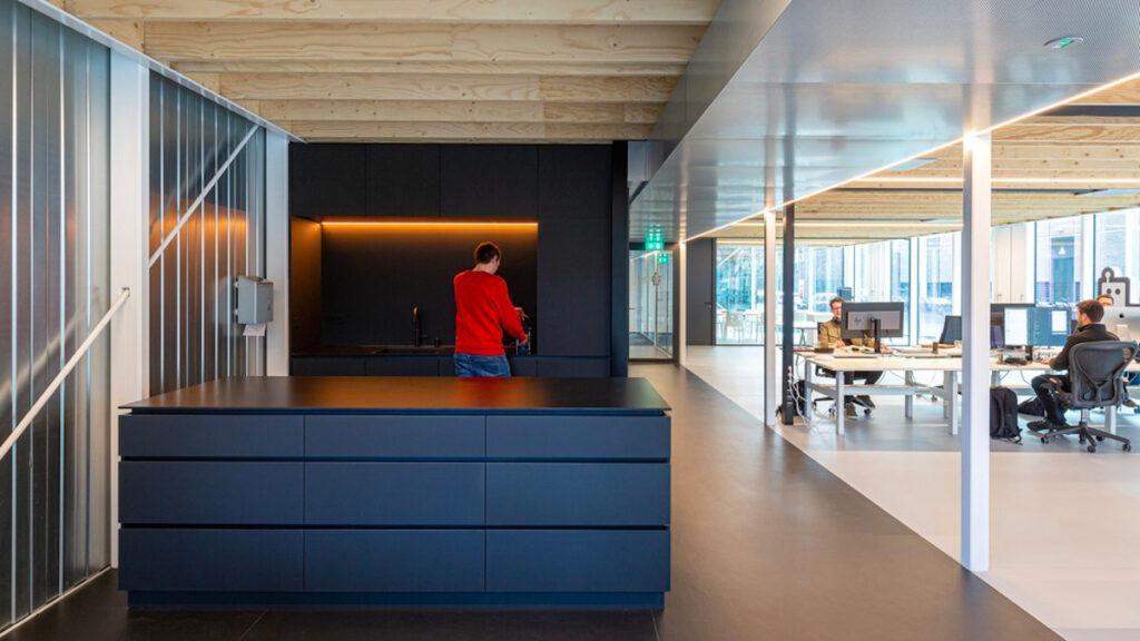cepezed baut nachhaltig, ein rückbaubares Büro