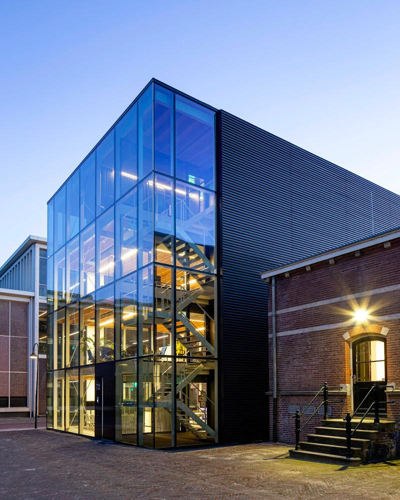 Rückbaubares Gebäude in Delft