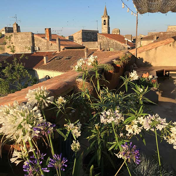 Terrasse des Hotels Le Collateral