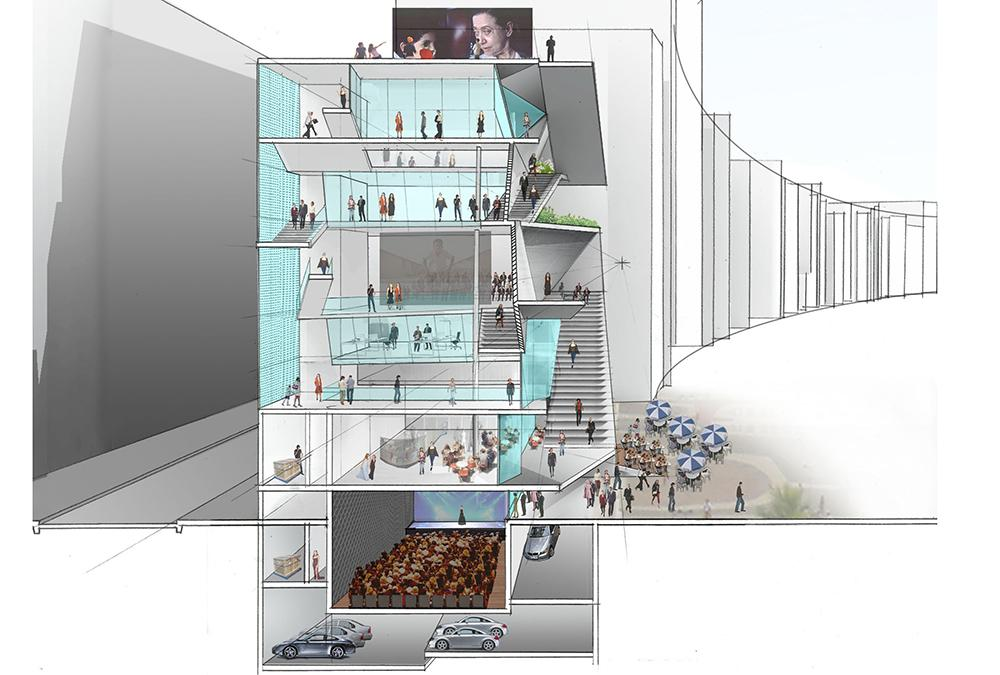 Drawing of the MIS interior