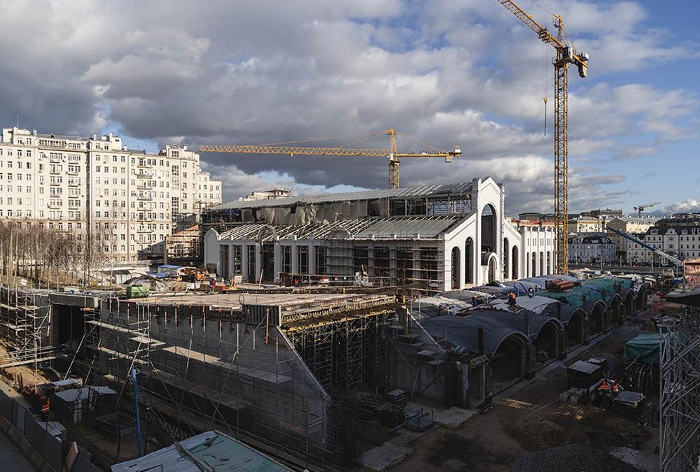 """""""Kultur-Kraftwerk"""" á la Renzo Piano: Die Bauarbeiten sollen noch in diesem Jahr abgeschlossen werden. (Bild: V-A-C / Gleb Leonov)"""