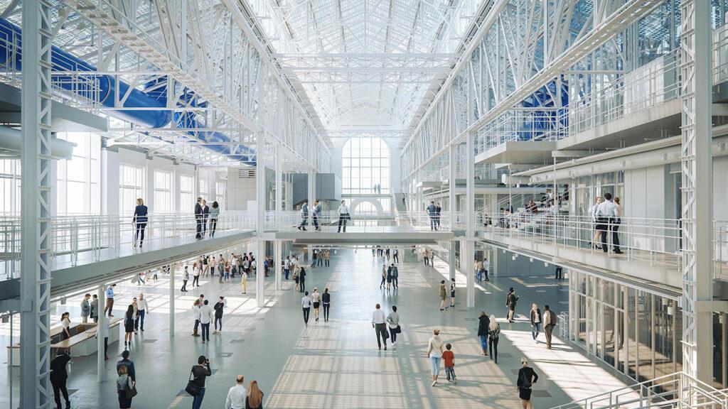 """Kultur-Kraftwerk"" á la Renzo Piano. (Bild: RPBW)"