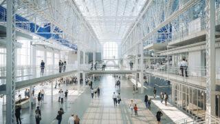"""Renzo Pianos starkes """"Kultur-Kraftwerk"""" (Bild: RPBW)"""