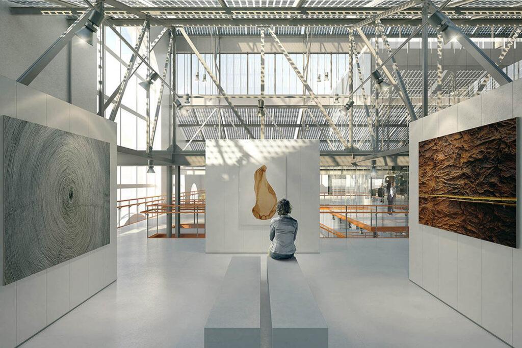 Superbes Zuhause für moderne Kunst: Das Design des Renzo Piano Building Workshops macht Moskau um eine spektakuläre Sehenswürdigkeit reicher. (Bild: RPBW)