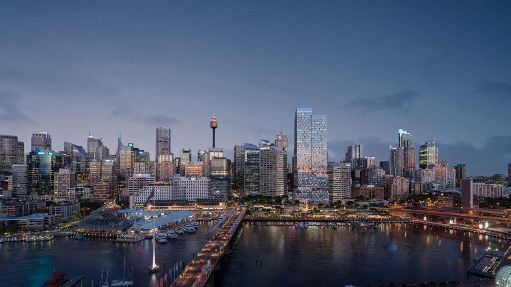 Cockle Bays neuer Turm bereichert die Skyline. (Bild: Henning Larsen)
