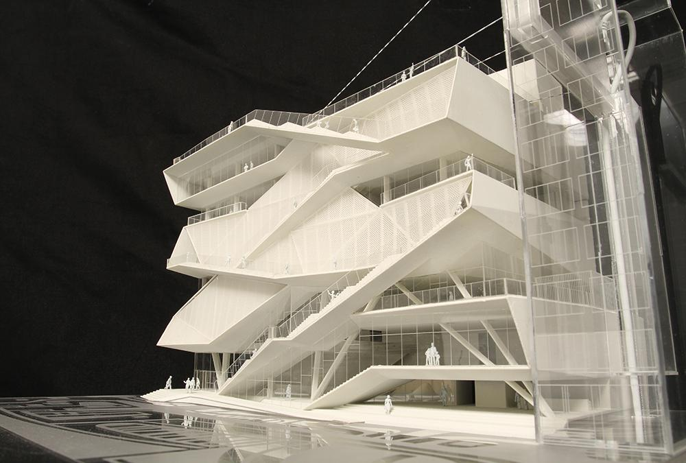Model of the Museum of Image and Sound